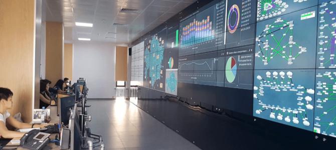 Светодиодный экран как средство визуализации в дата центре